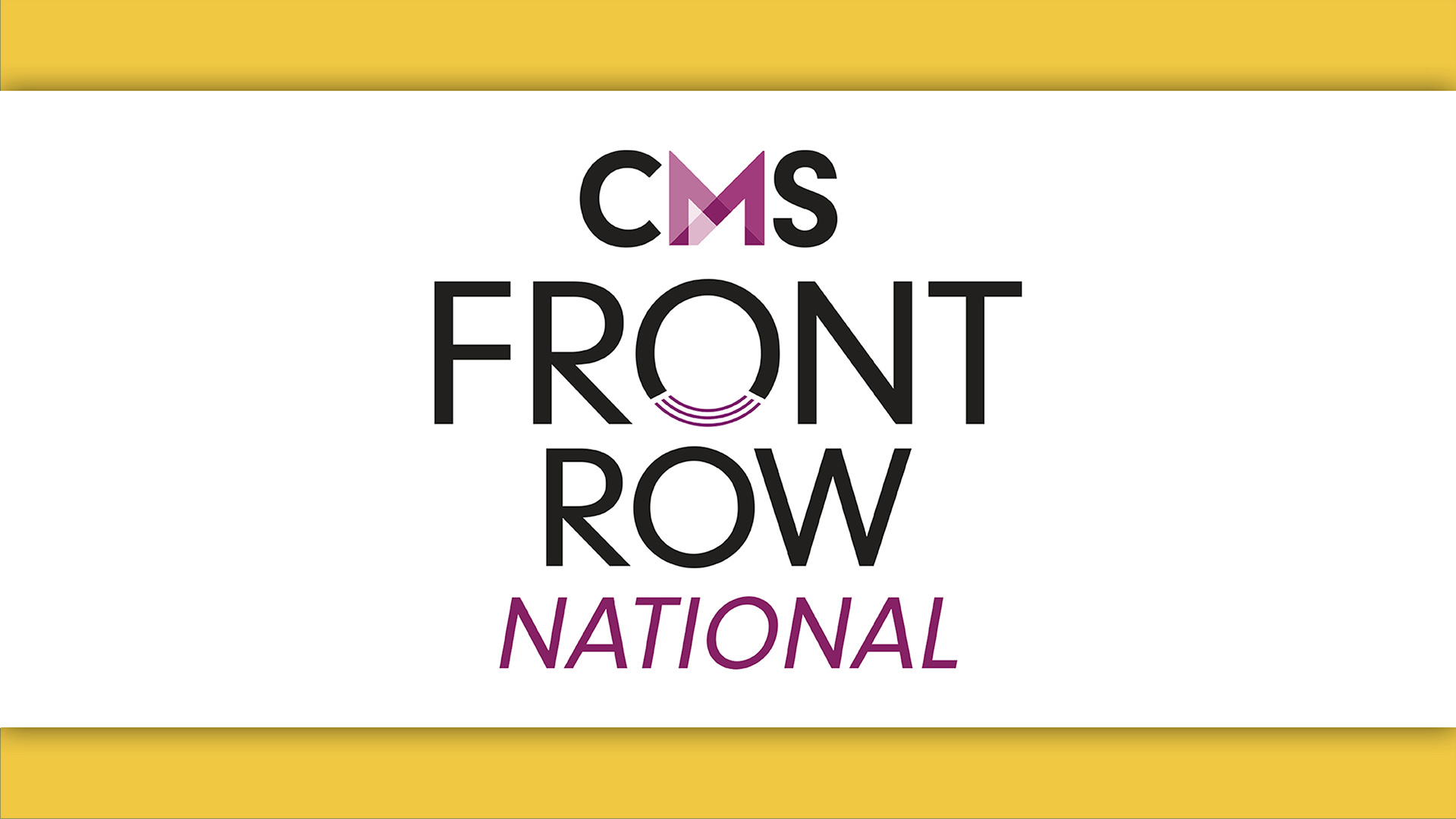 CMS Front Row October