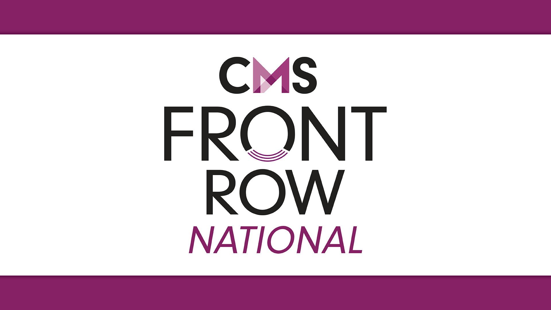 CMS Front Row Sept 9
