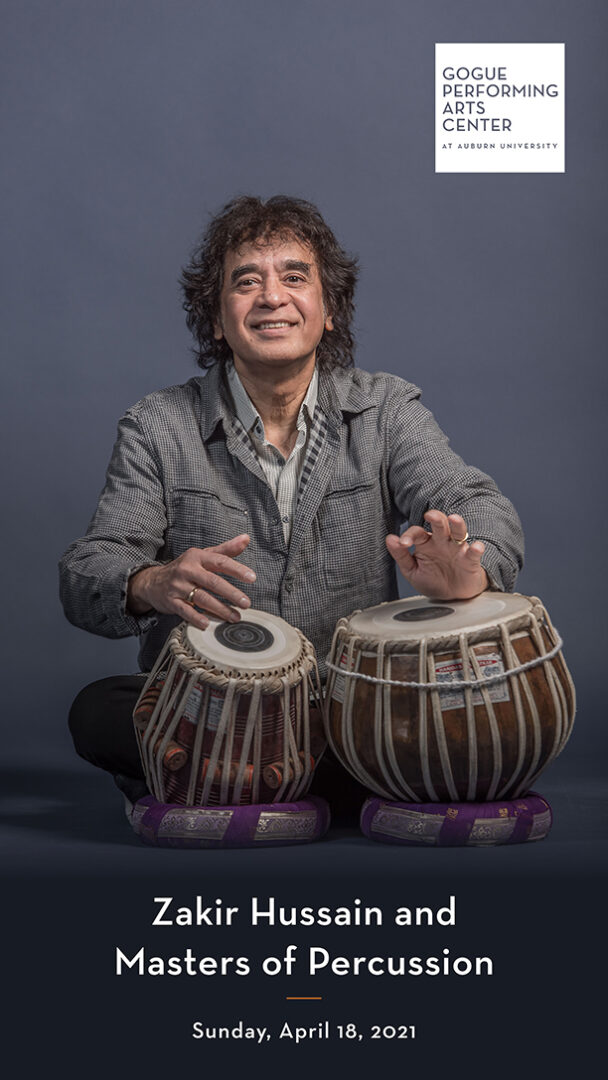 Zakir Hussain program cover