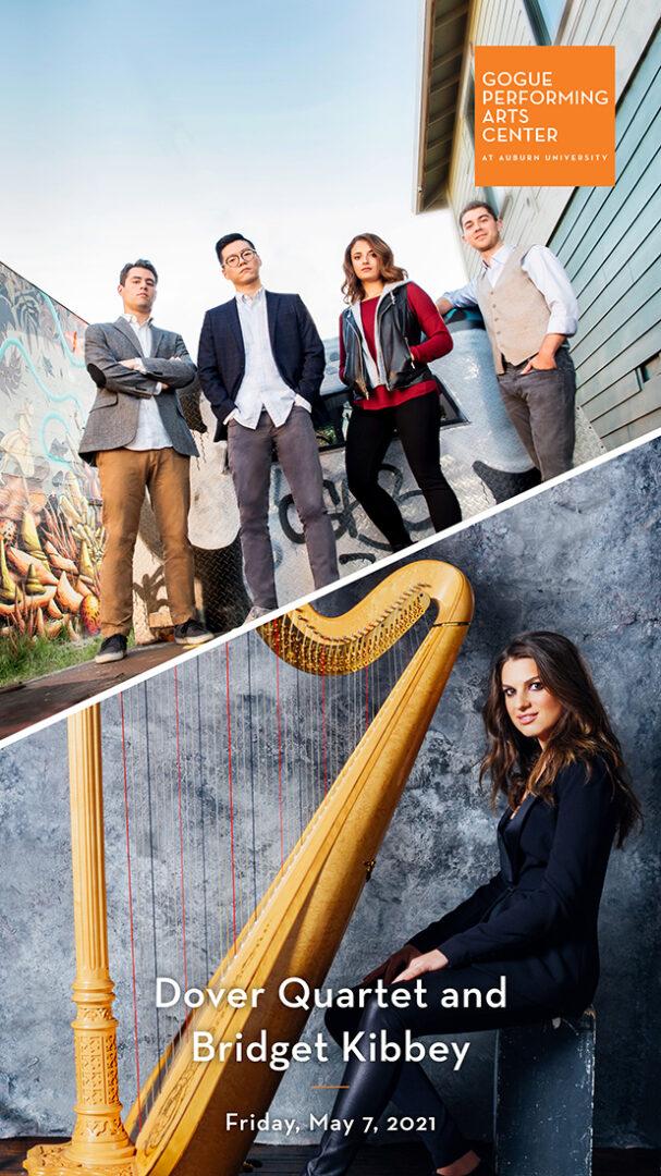Dover Quartet and Bridget Kibbey program